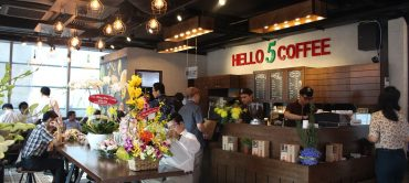 Hello 5 Coffee Open New Store In District 1, Hochiminh City