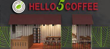 Khai trương và tặng quà tại chi nhánh Hello 5 Coffee Trương Định