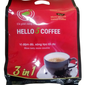 Hello 5 Coffee - 3 in 1 - 50 sticks
