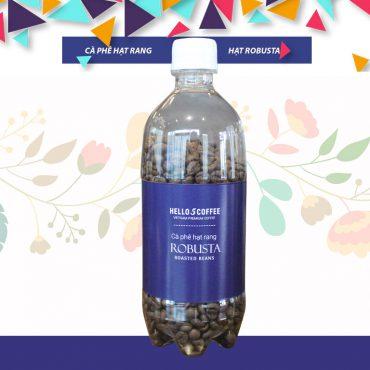 Hello 5 Coffee – Bottle Robusta Roasted Beans
