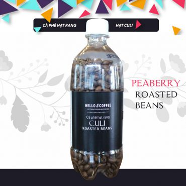Hello 5 Coffee – Bottle Culi (Peaberry) Roasted Beans