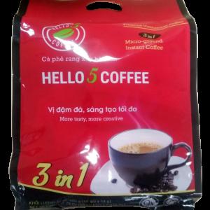 Hello 5 Coffee - 3 in 1 - 50 sticks