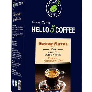 Black instant Coffee